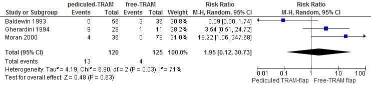 TRAM/DIEP flap types breast reconstruction - Guideline